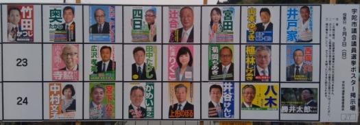 2020年 宇陀市議会議員選挙